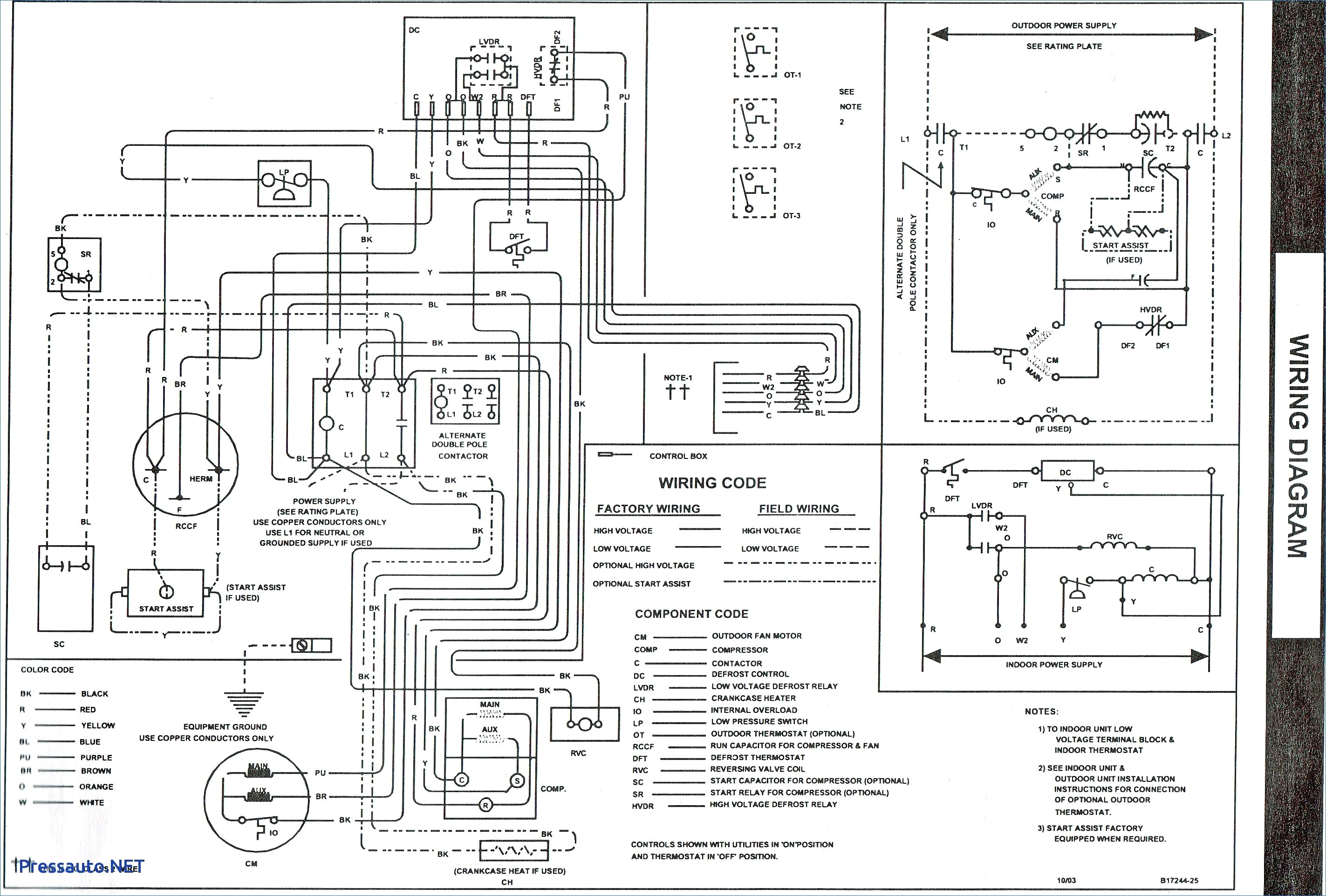 Goodman Defrost Board Wiring Diagram