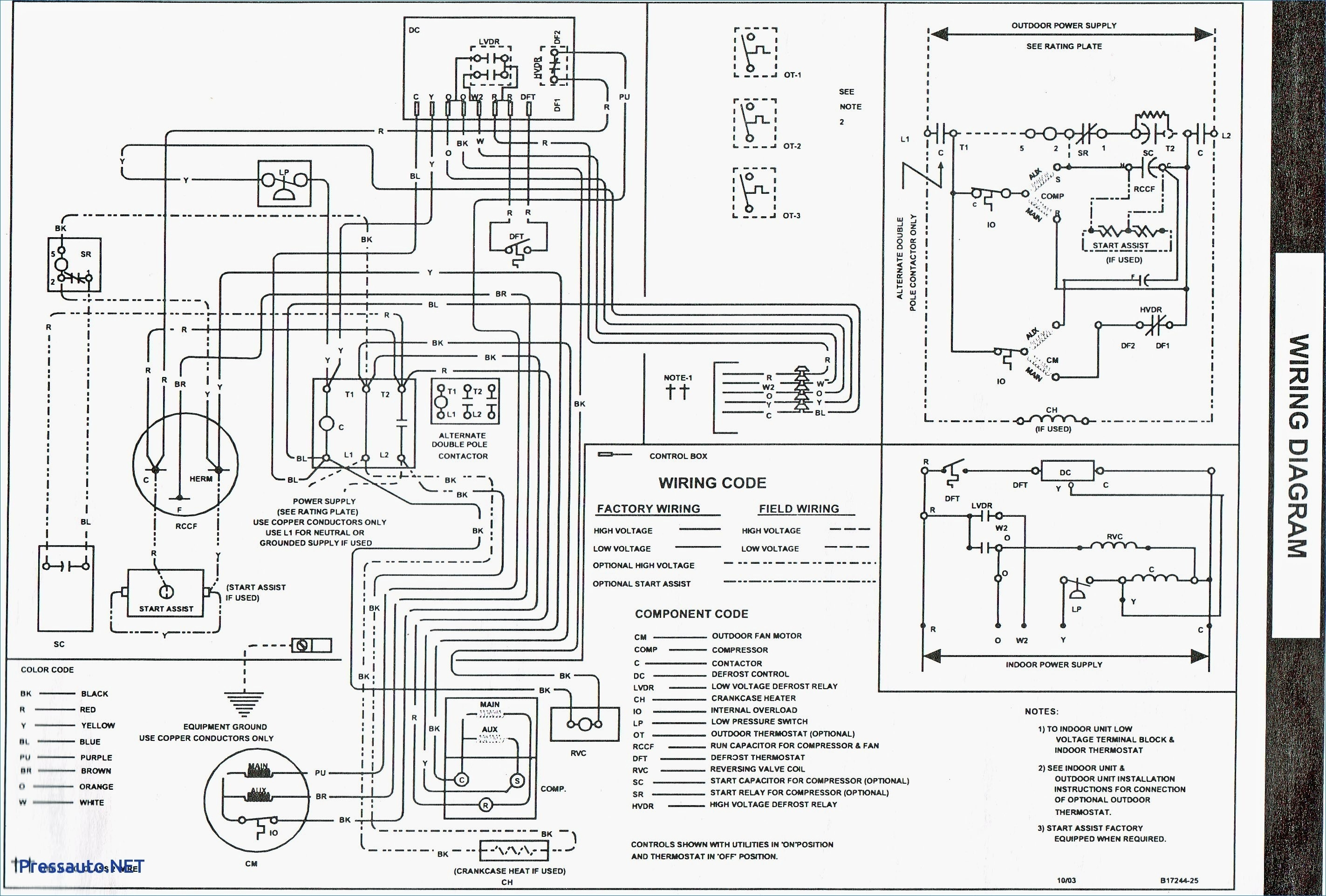 Goodman Air Handler Schematics