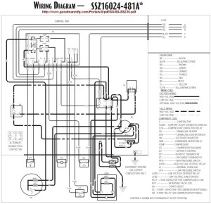 Goodman Heat Pump Air Handler Wiring Diagram | Free Wiring