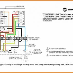 Goodman Heat Pump Low Voltage Wiring Diagram | Free Wiring