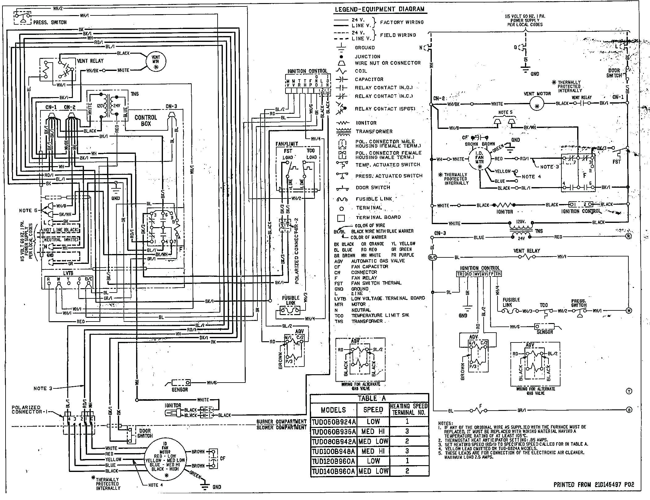 Wiring Diagram Goodman Air Handler