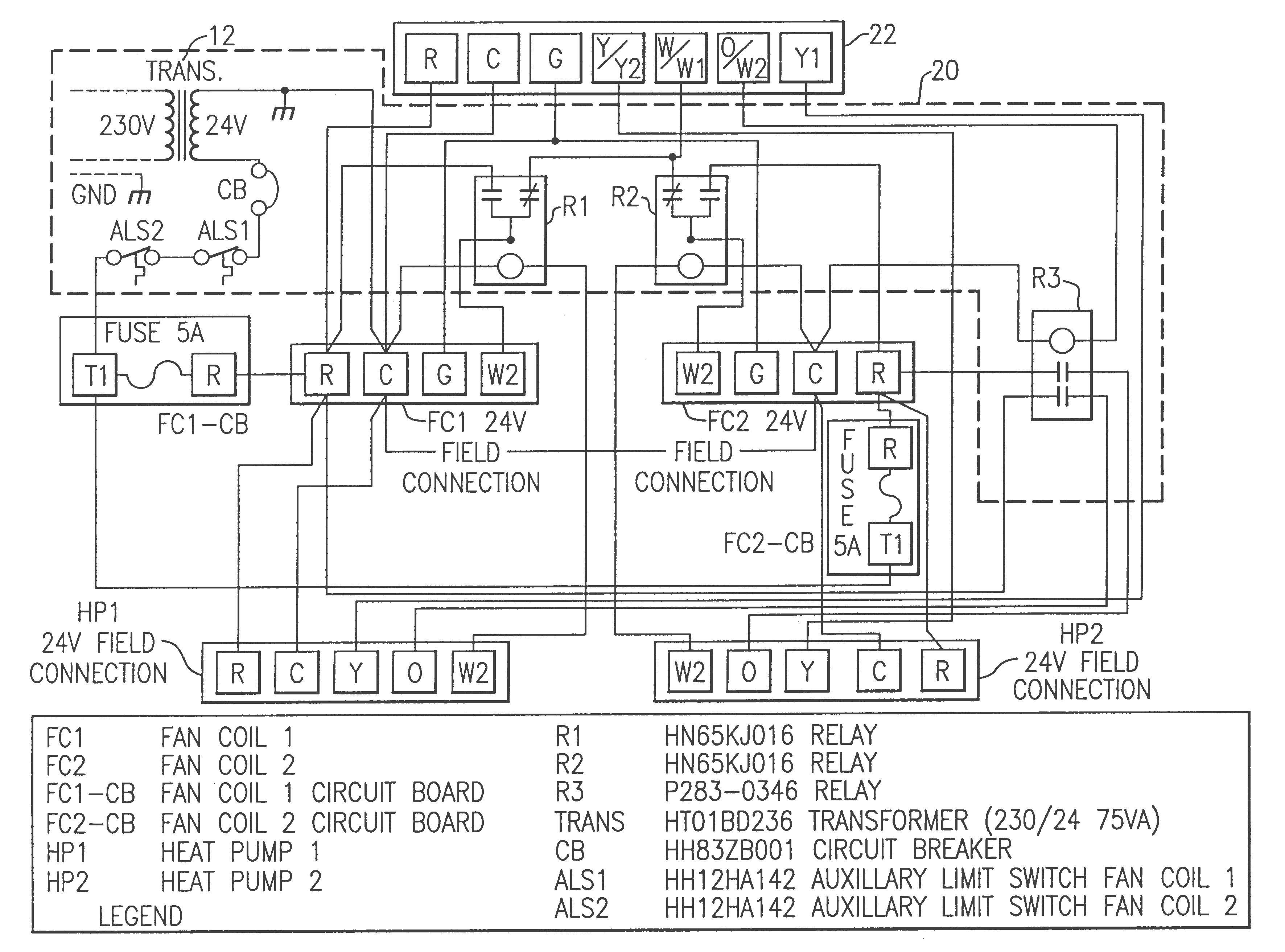 Goodman Heat Pump Package Unit Wiring Diagram