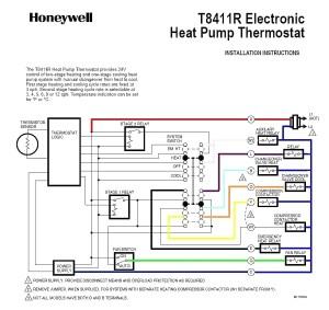 Goodman Heat Pump thermostat Wiring Diagram | Free Wiring