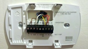 Heat Pump thermostat Wiring Diagram Honeywell | Free Wiring Diagram