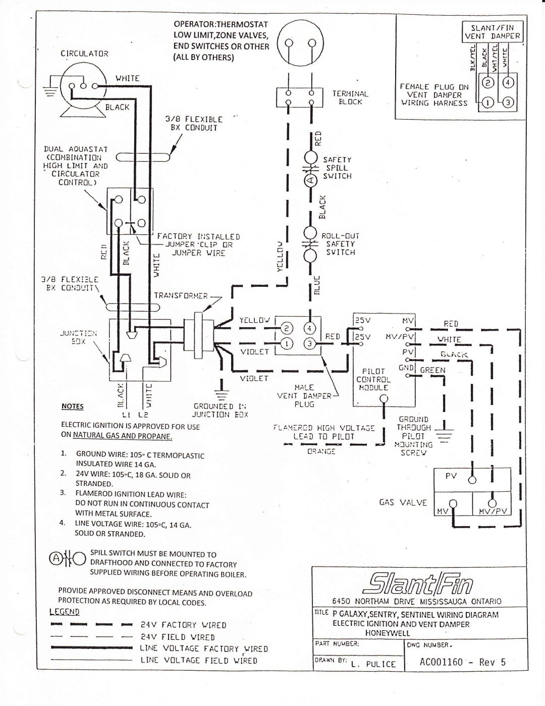 Honeywell R G Wiring Diagram