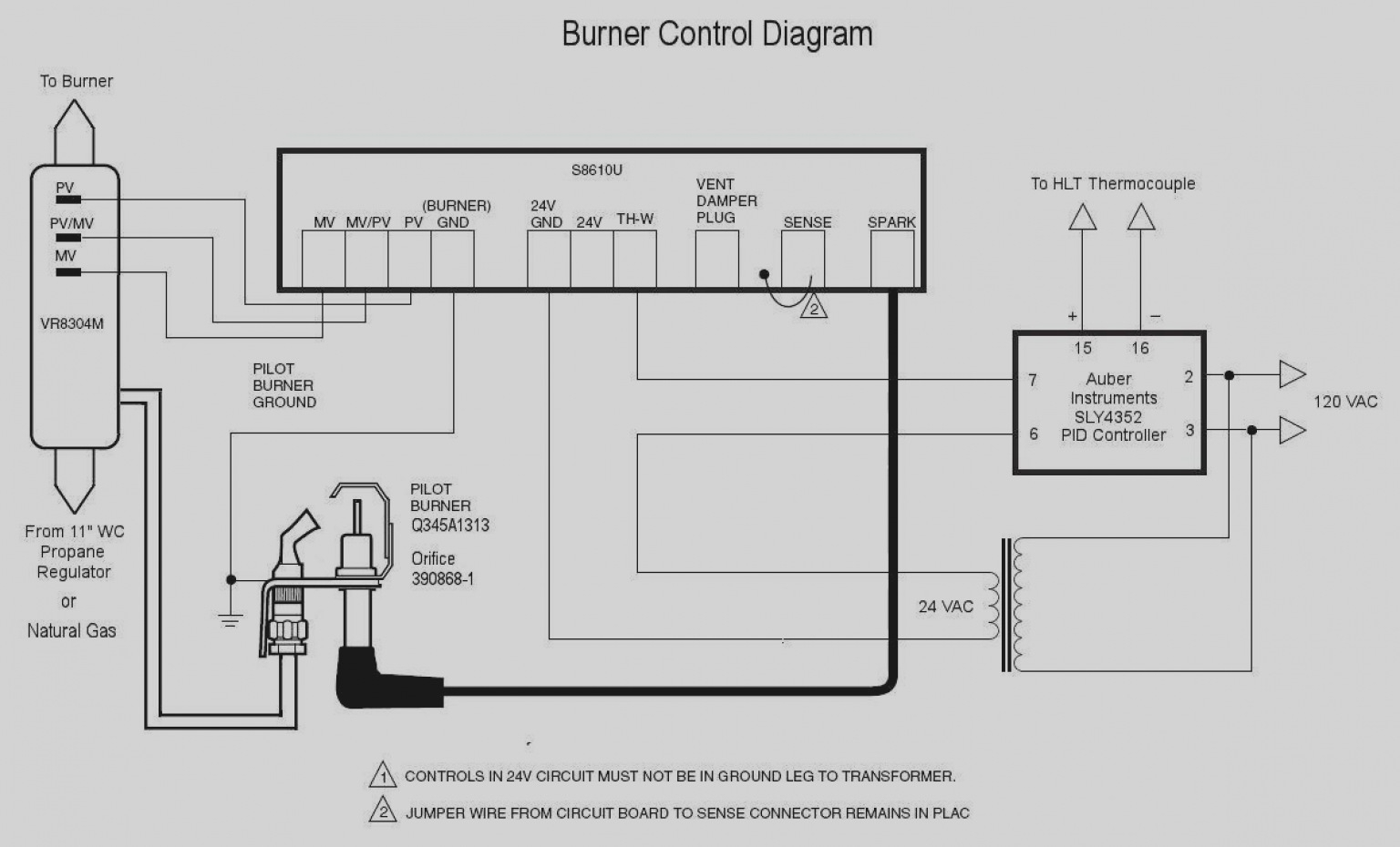 Honeywell St C Wiring Diagram