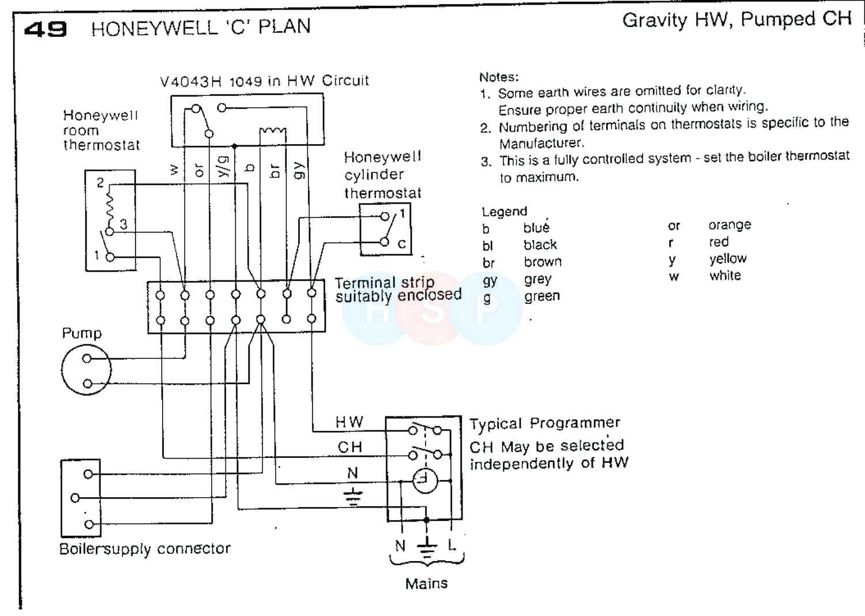 Honeywell Zone Valve V F Wiring Diagram