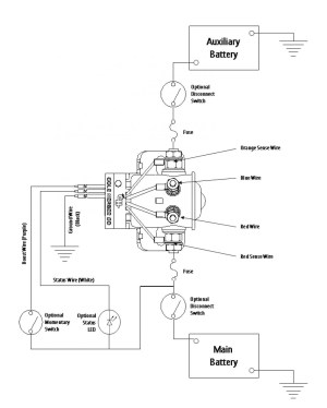 Intellitec Battery Disconnect Relay Wiring Diagram | Free