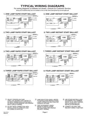 Iota Emergency Ballast Wiring Diagram   Free Wiring Diagram