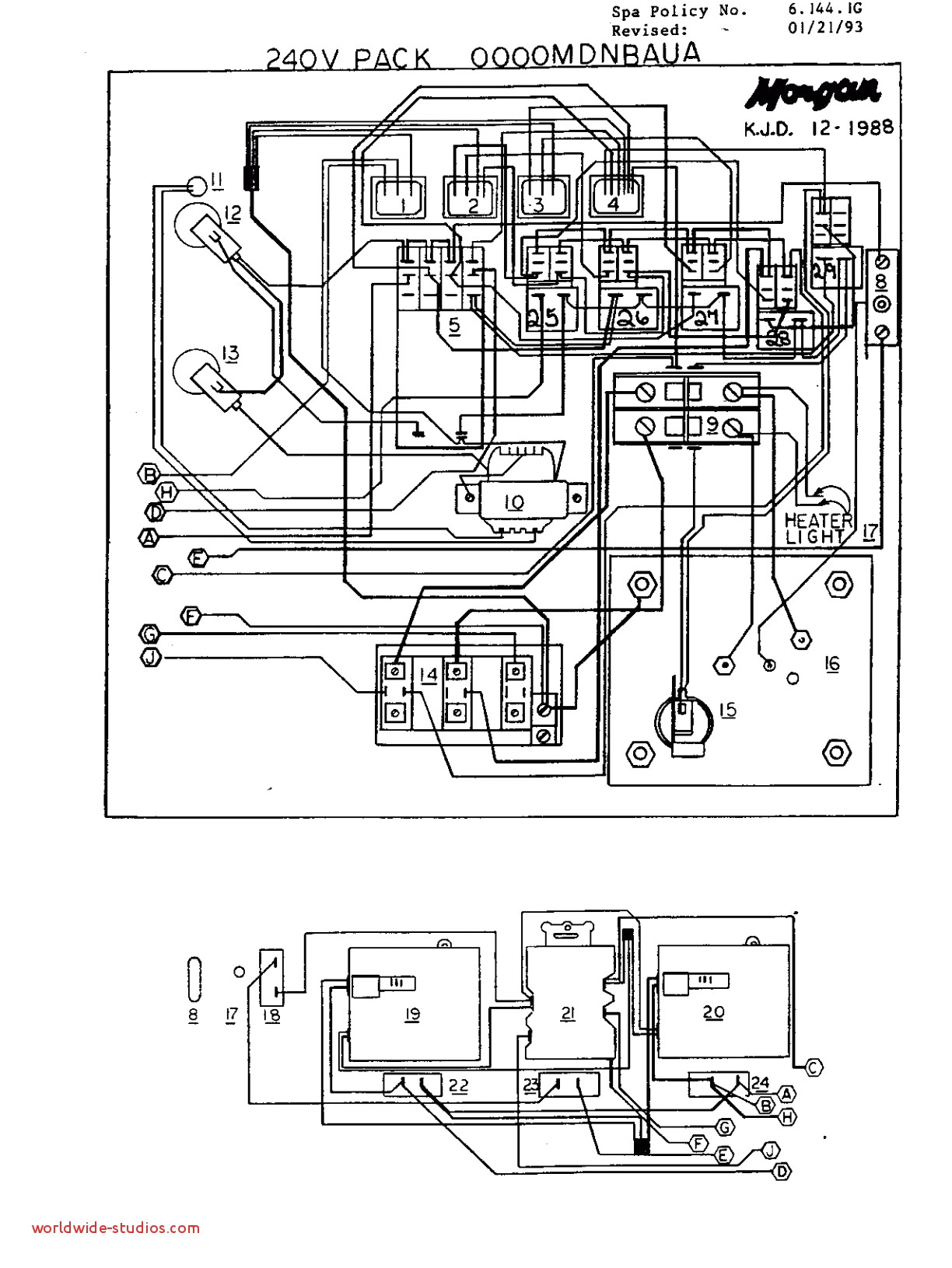 Jacuzzi Wiring Diagram
