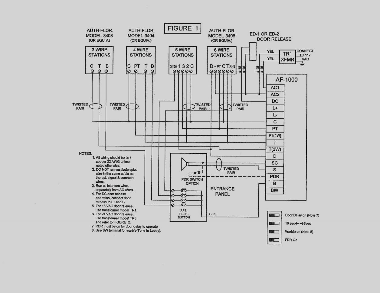 Jeron Intercom Wiring Diagram