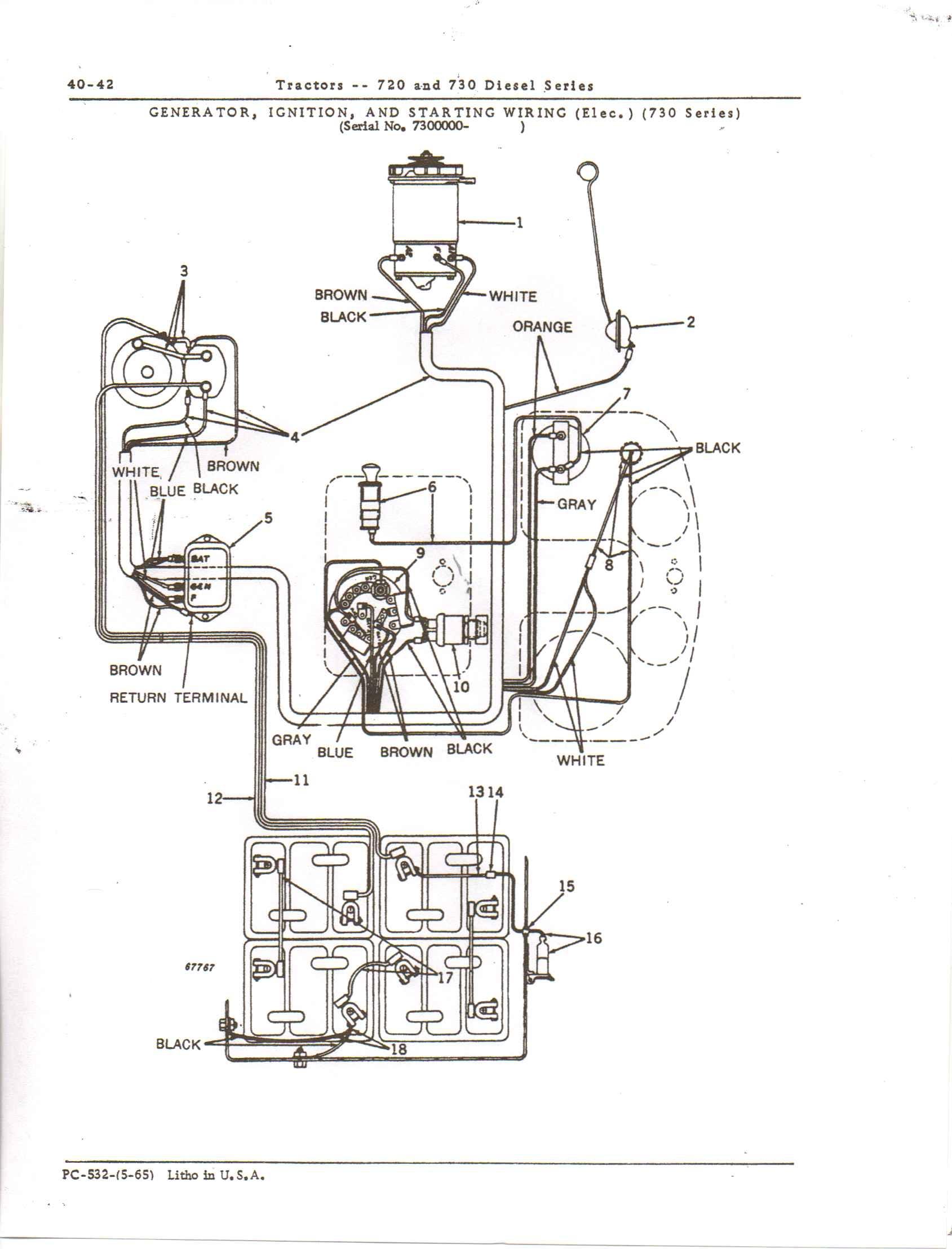 John Deere Tractor Schematic