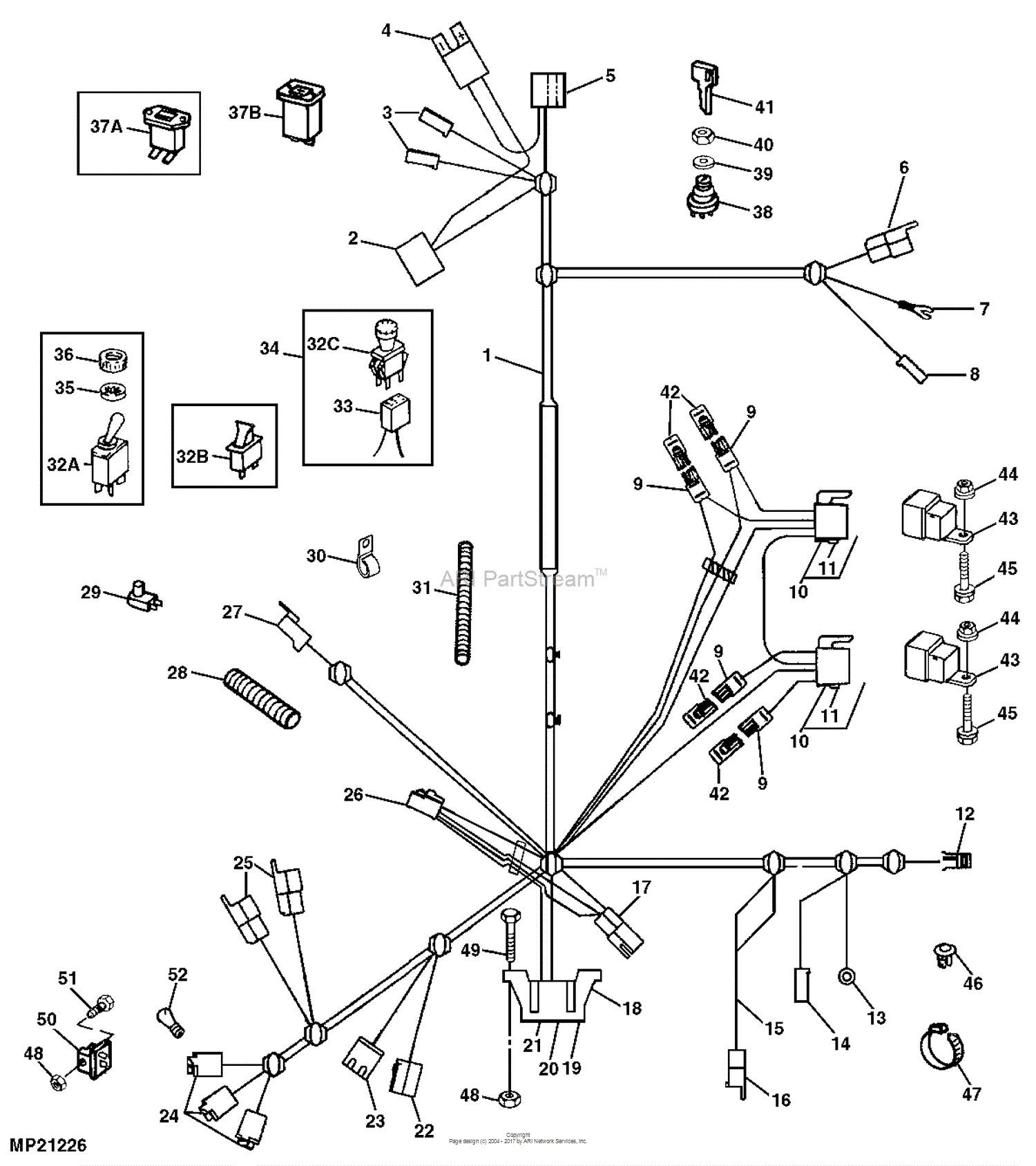 John Deere La130 Parts Diagram Pto