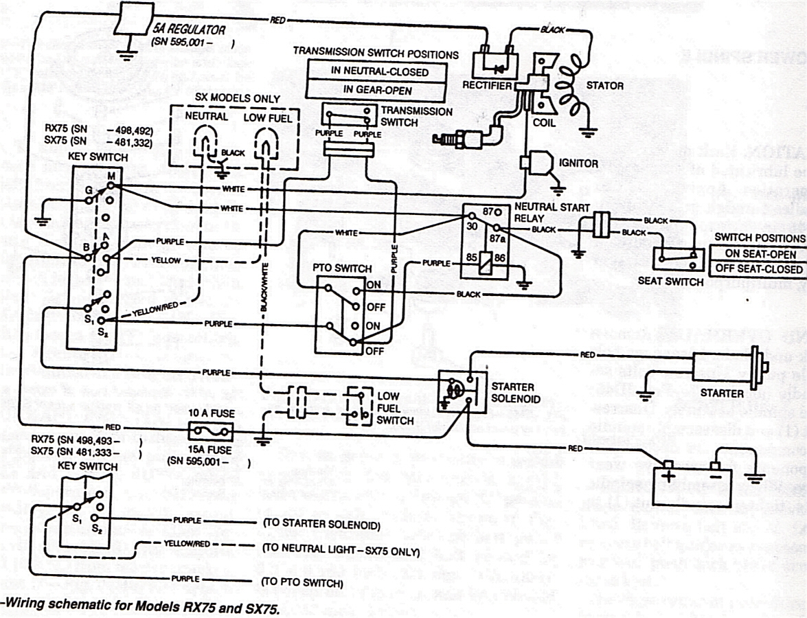John Deere Jd 120 Electrical Schematic