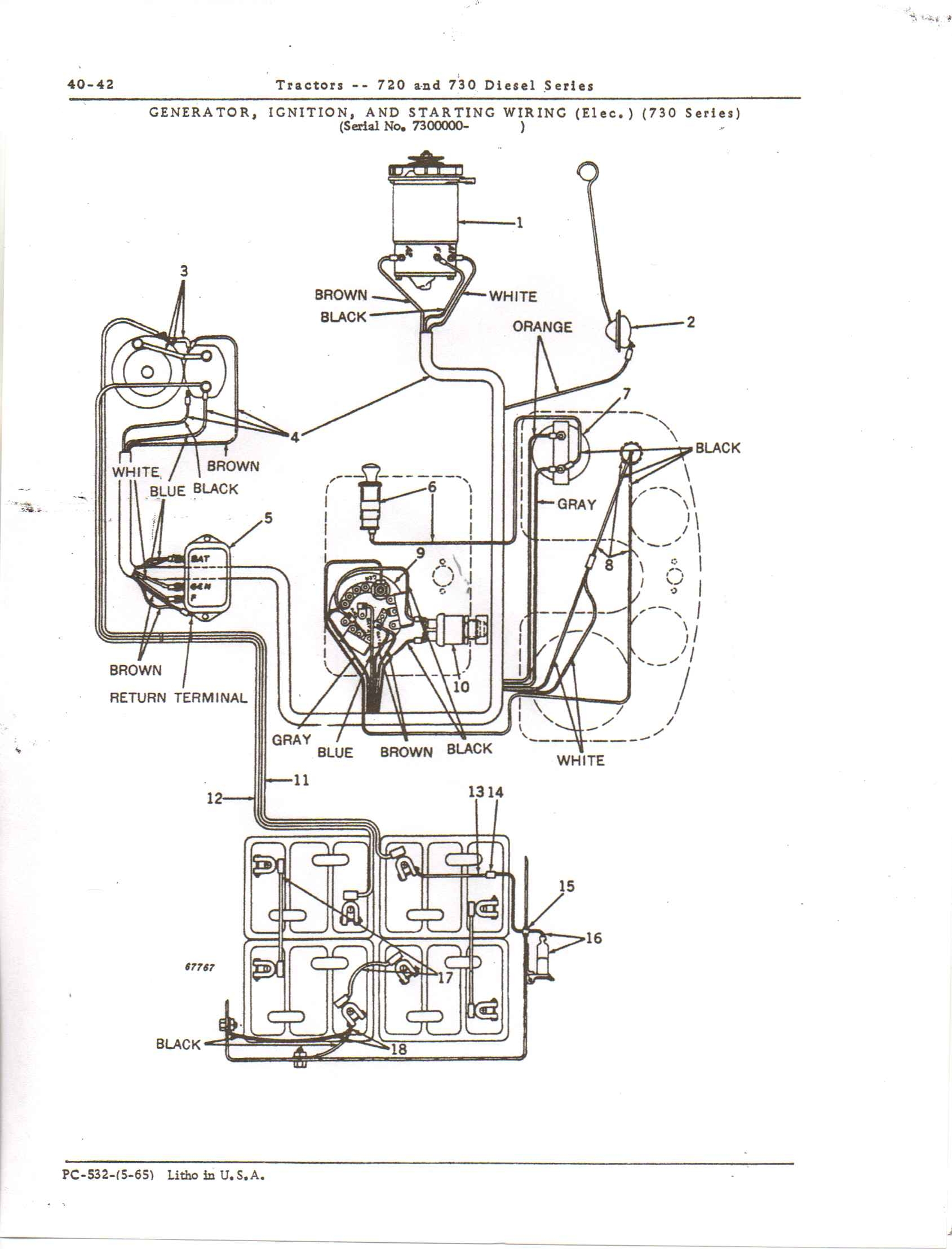 John Deere B Wiring Diagram | Wiring Diagram on