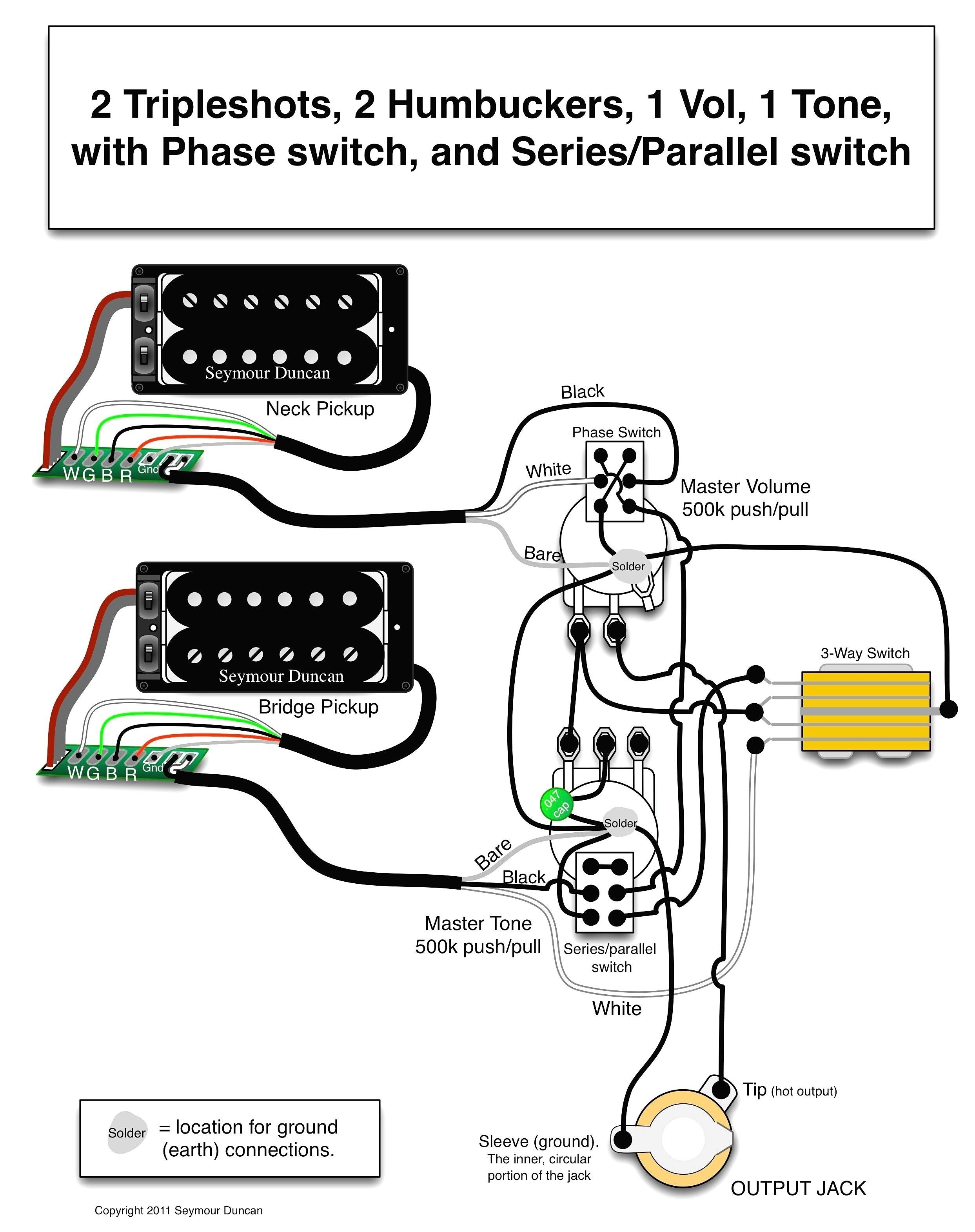 Les Paul Wiring Schematic