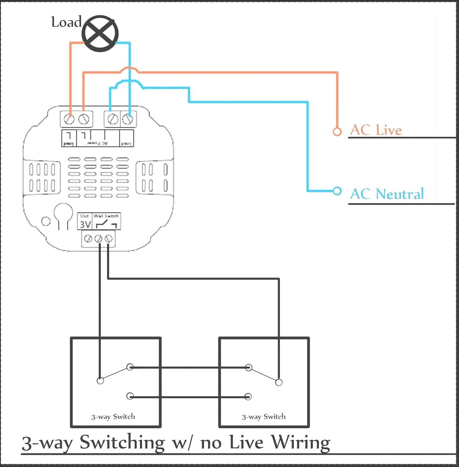 3 Way Switch Wiring Diagram Leviton