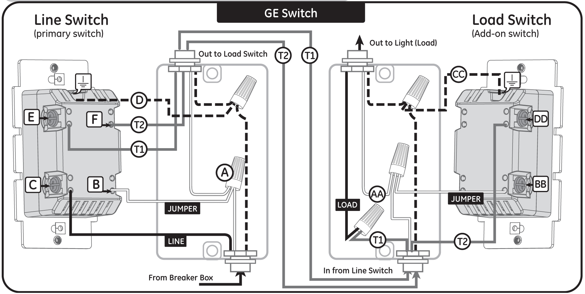 Leviton 3 Way Light Switch Wiring Diagram