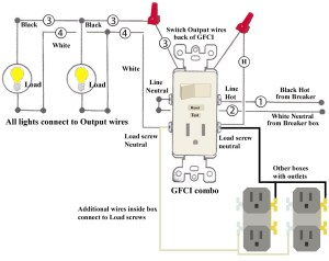 Leviton Switch Outlet Combination Wiring Diagram | Free Wiring Diagram