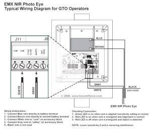 Liftmaster Wiring Diagram Sensors   Free Wiring Diagram