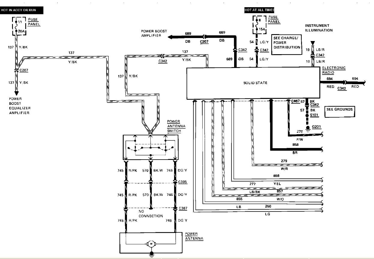 Lincoln Continental Stereo Wiring Diagram