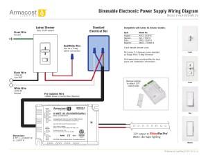 Lutron Dimming Ballast Wiring Diagram | Free Wiring Diagram