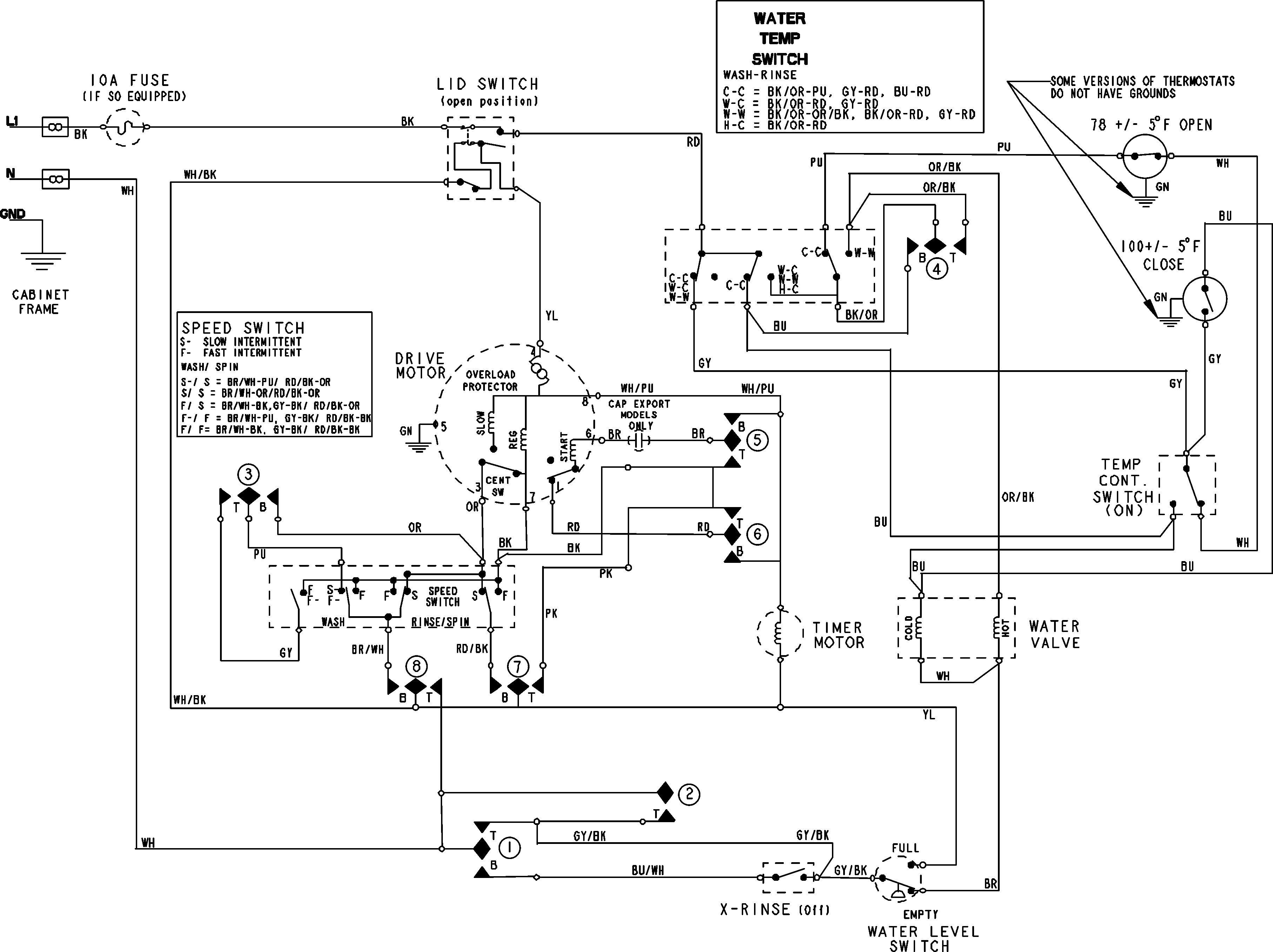 cloths dryer wiring diagram 220