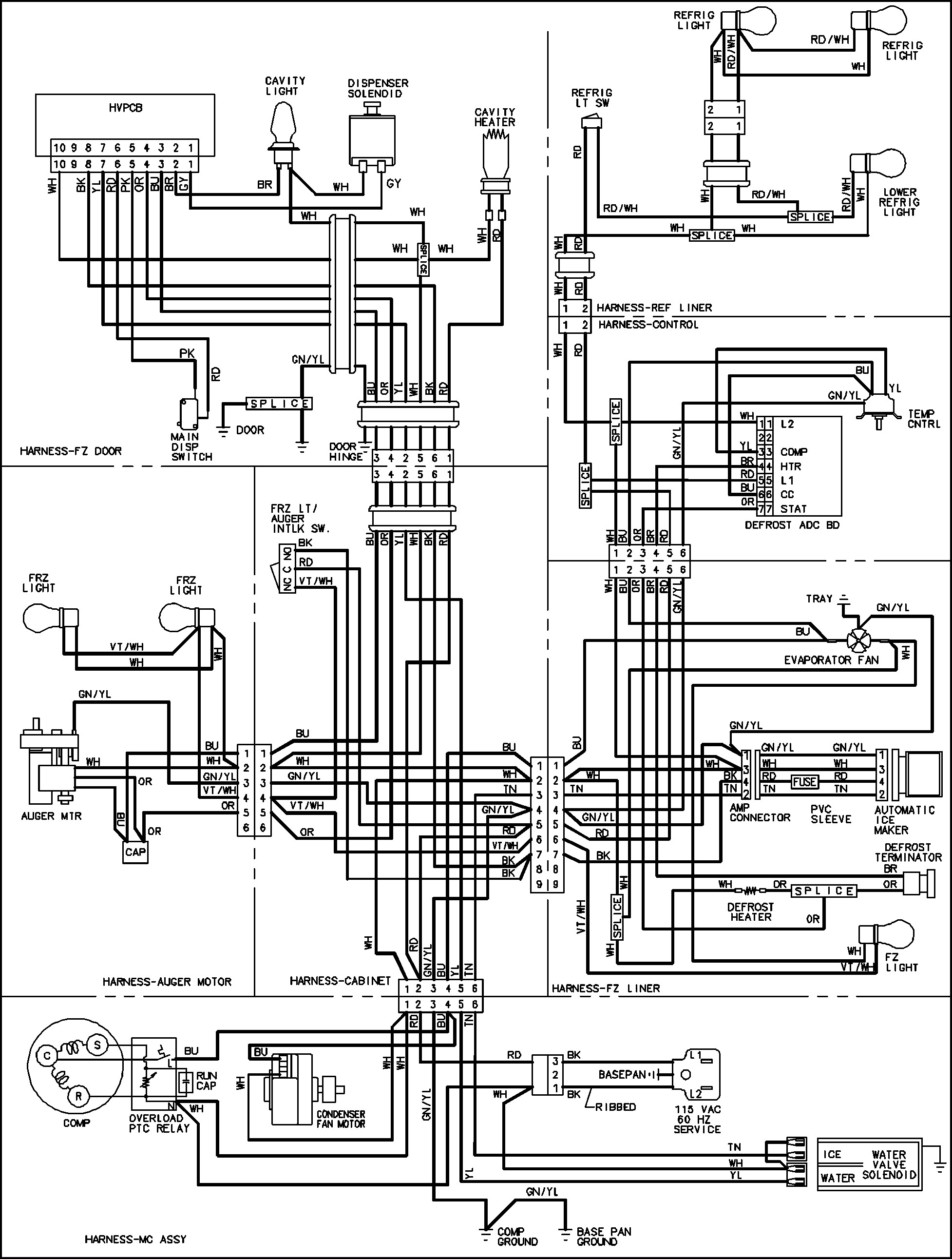 Ge Dryer Wiring Schematic
