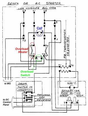 Mechanically Held Lighting Contactor Wiring Diagram | Free