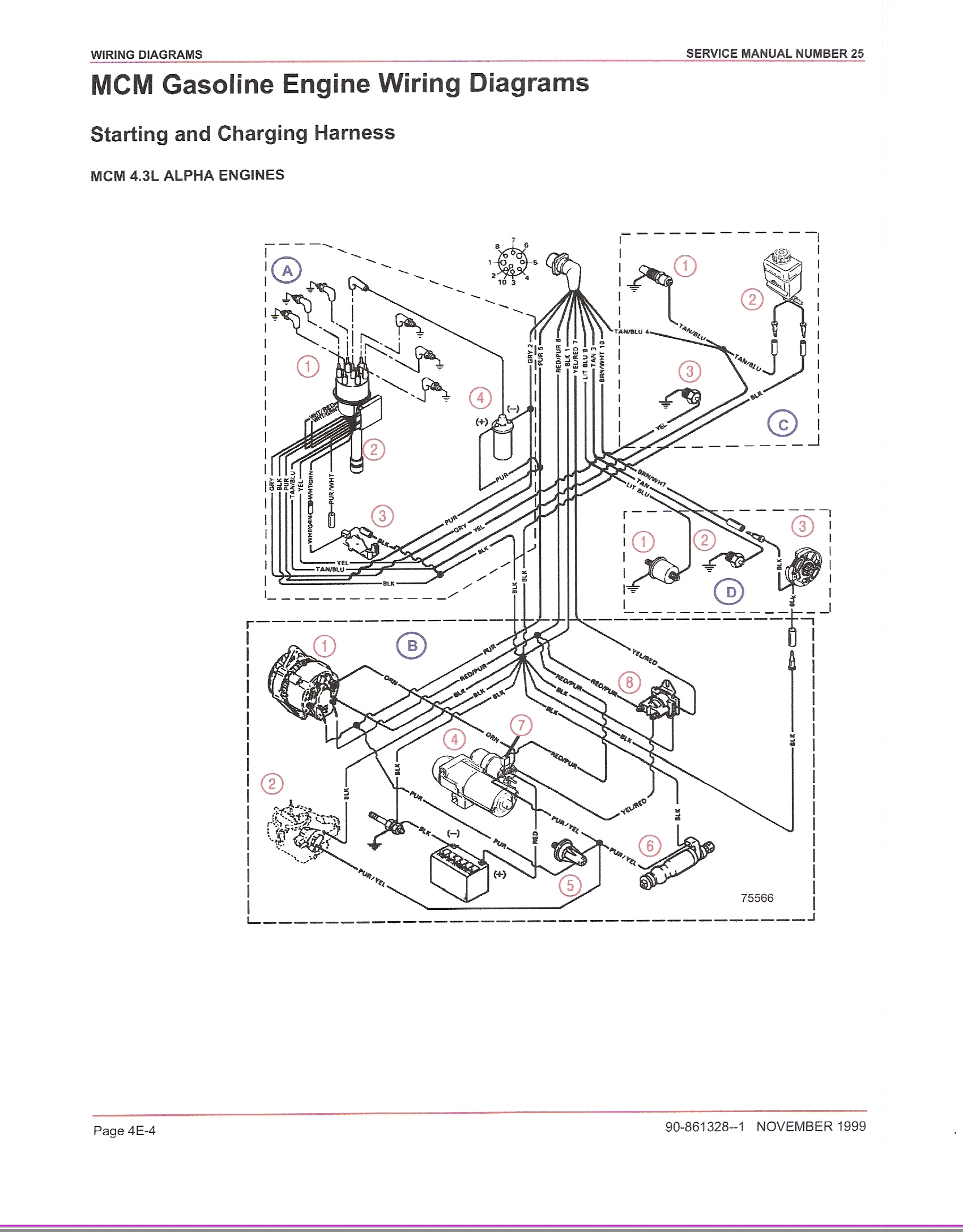 Wiring Diagram For Mercruiser Stern Drive