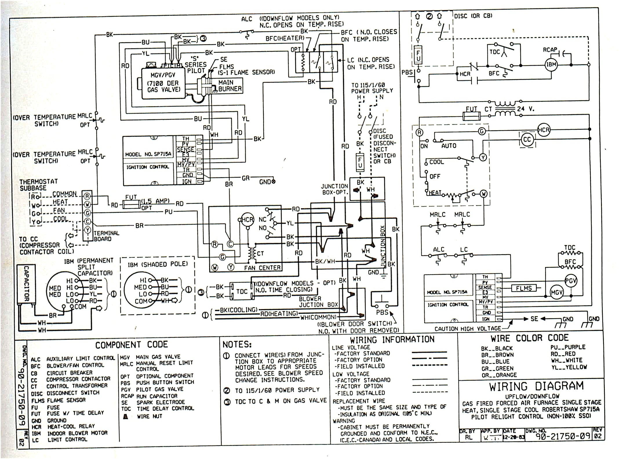 Gas Valve Electrical Schematic