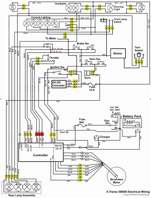 Mobility Scooter Wiring Diagram | Free Wiring Diagram