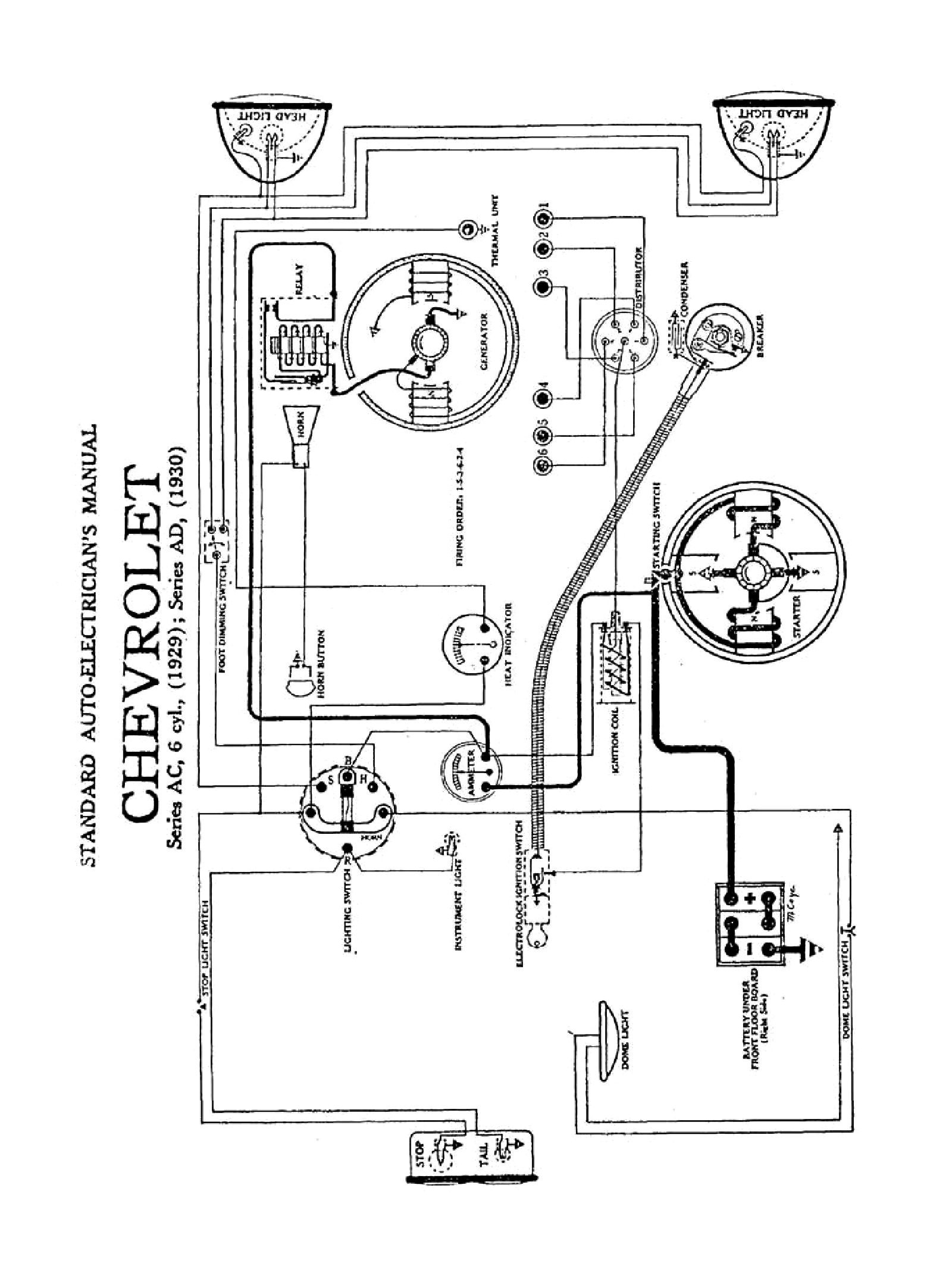 Chevy Alternator Wiring