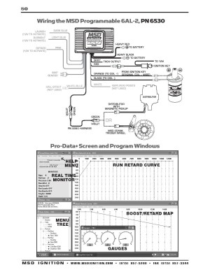 Msd 6al Part Number 6420 Wiring Diagram | Free Wiring Diagram