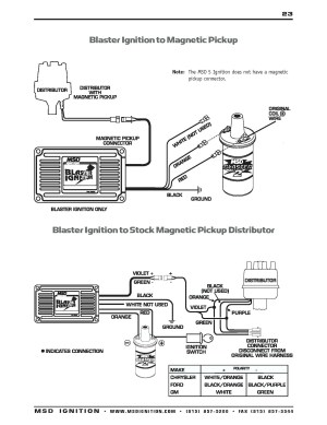 Msd Ignition 6al 6420 Wiring Diagram | Free Wiring Diagram