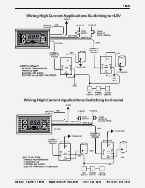 Msd Ignition 6al 6420 Wiring Diagram | Free Wiring Diagram