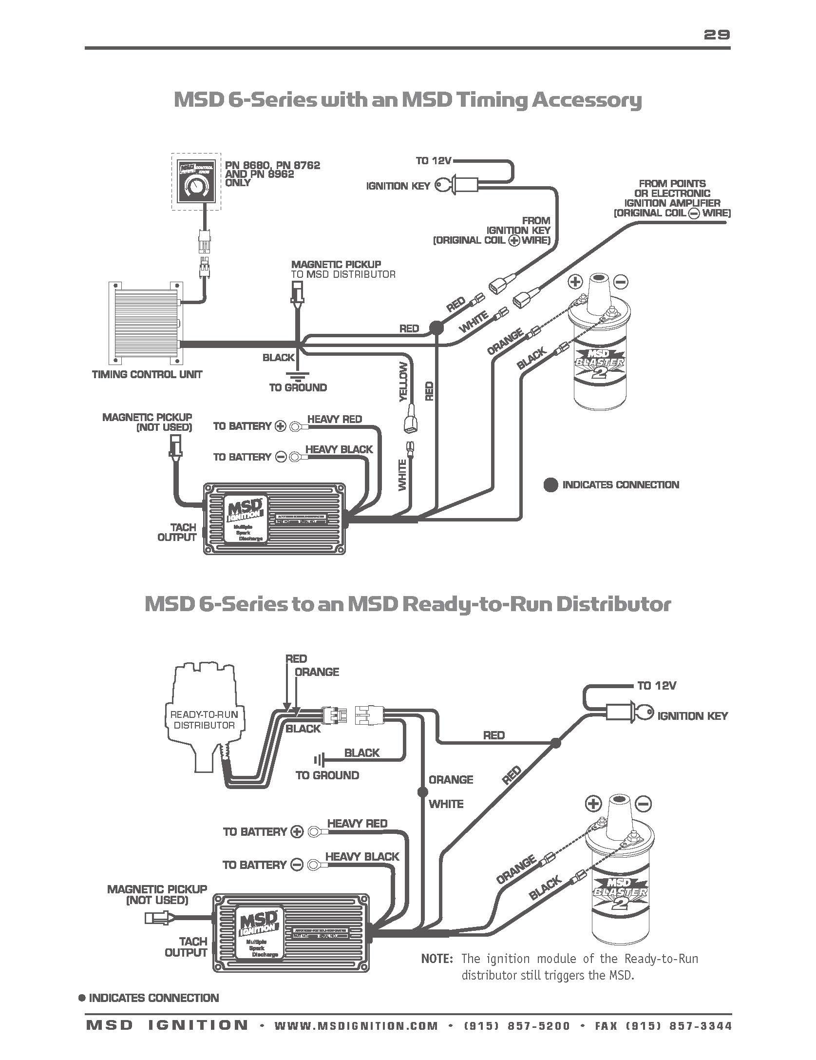 Msd Ignition Wiring Diagram 1991 F150 || Wiring Diagrams Home on