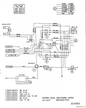 Mtd Riding Lawn Mower Wiring Diagram | Free Wiring Diagram