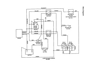Mtd Riding Lawn Mower Wiring Diagram | Free Wiring Diagram