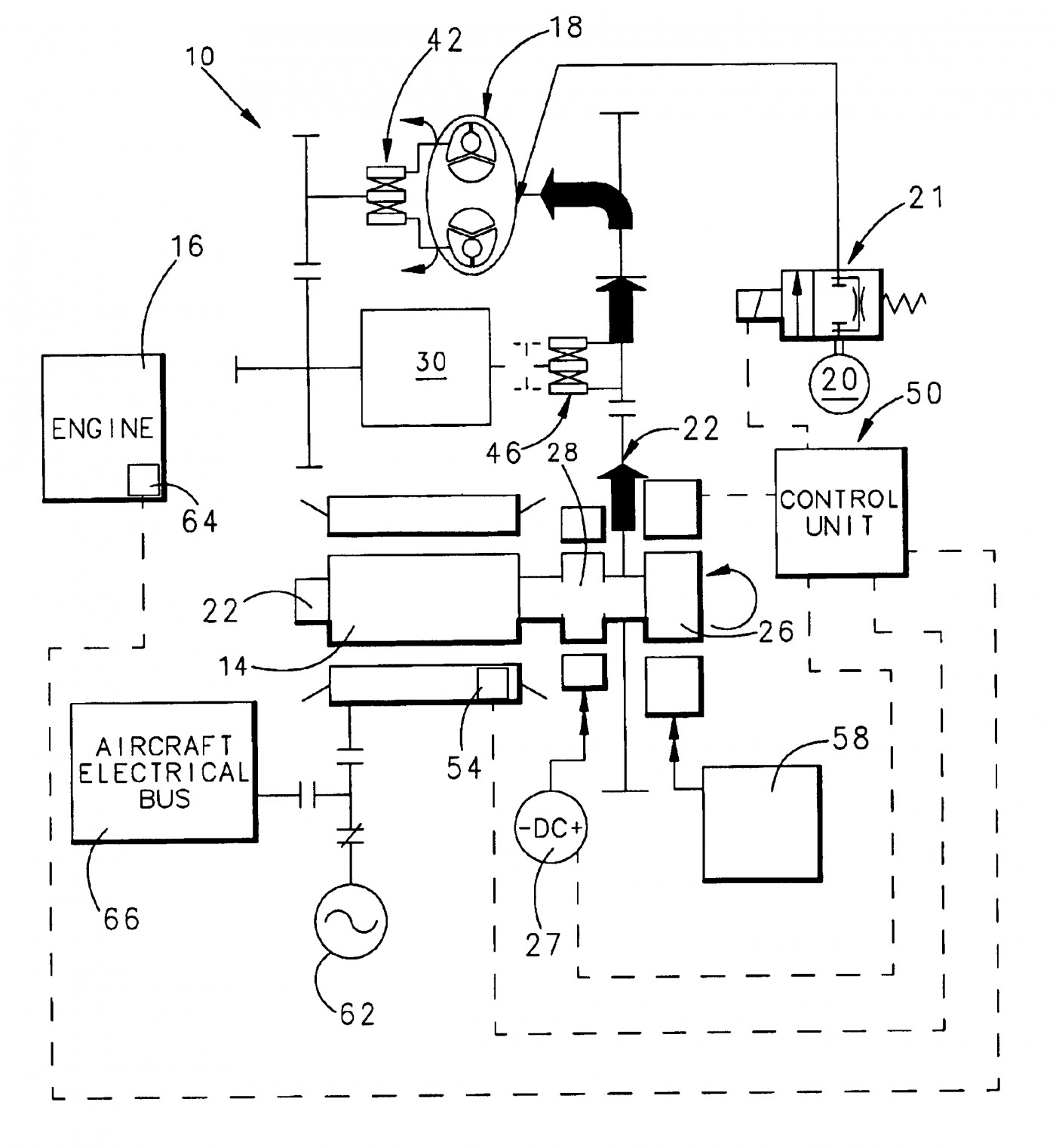engine generator diagram