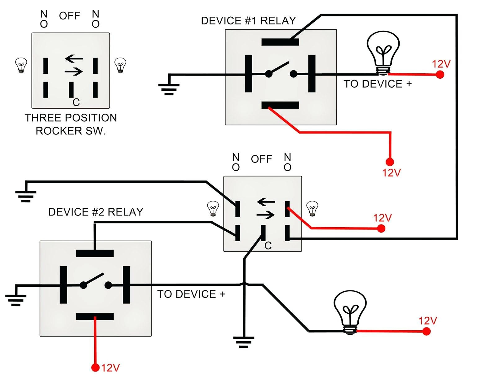 120 volt coil relay schematic