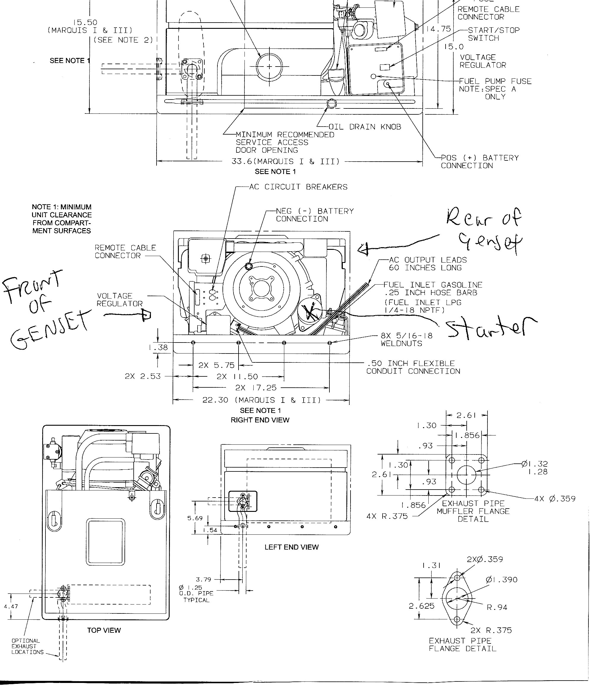 Onan Generator Wiring Diagram 4000 - Wiring Diagram Features
