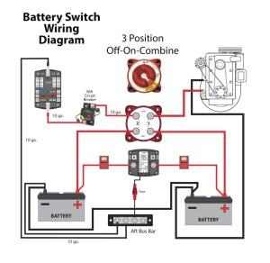 Perko Marine Battery Switch Wiring Diagram   Free Wiring