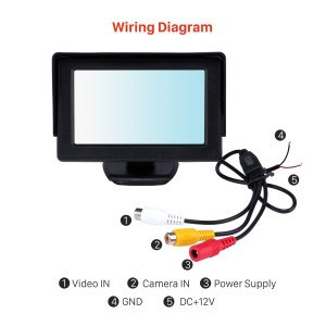 Pillow Tft Lcd Color Monitor Wiring Diagram | Free Wiring