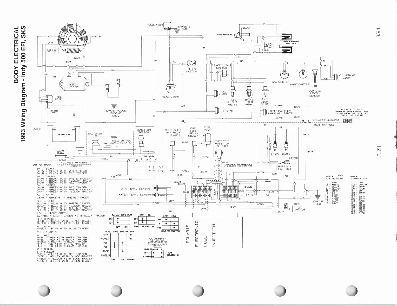 2002 Polari Ranger Wiring Diagram