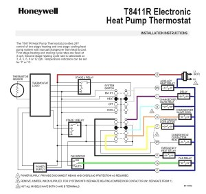Ruud Heat Pump thermostat Wiring Diagram | Free Wiring Diagram