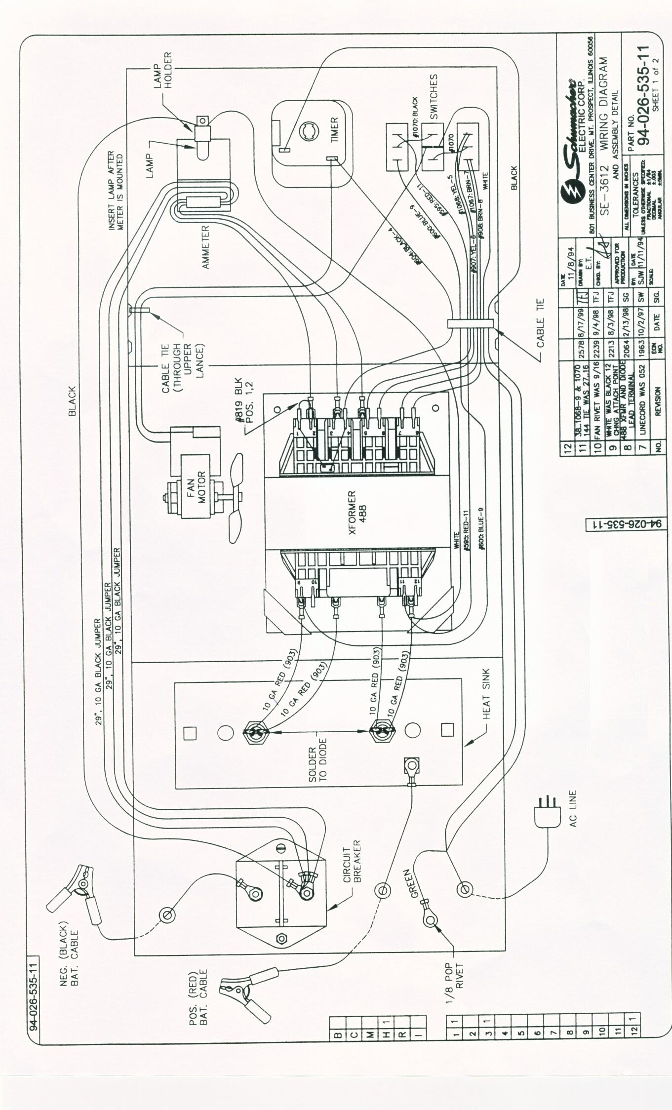Schumacher Se Wiring Diagram