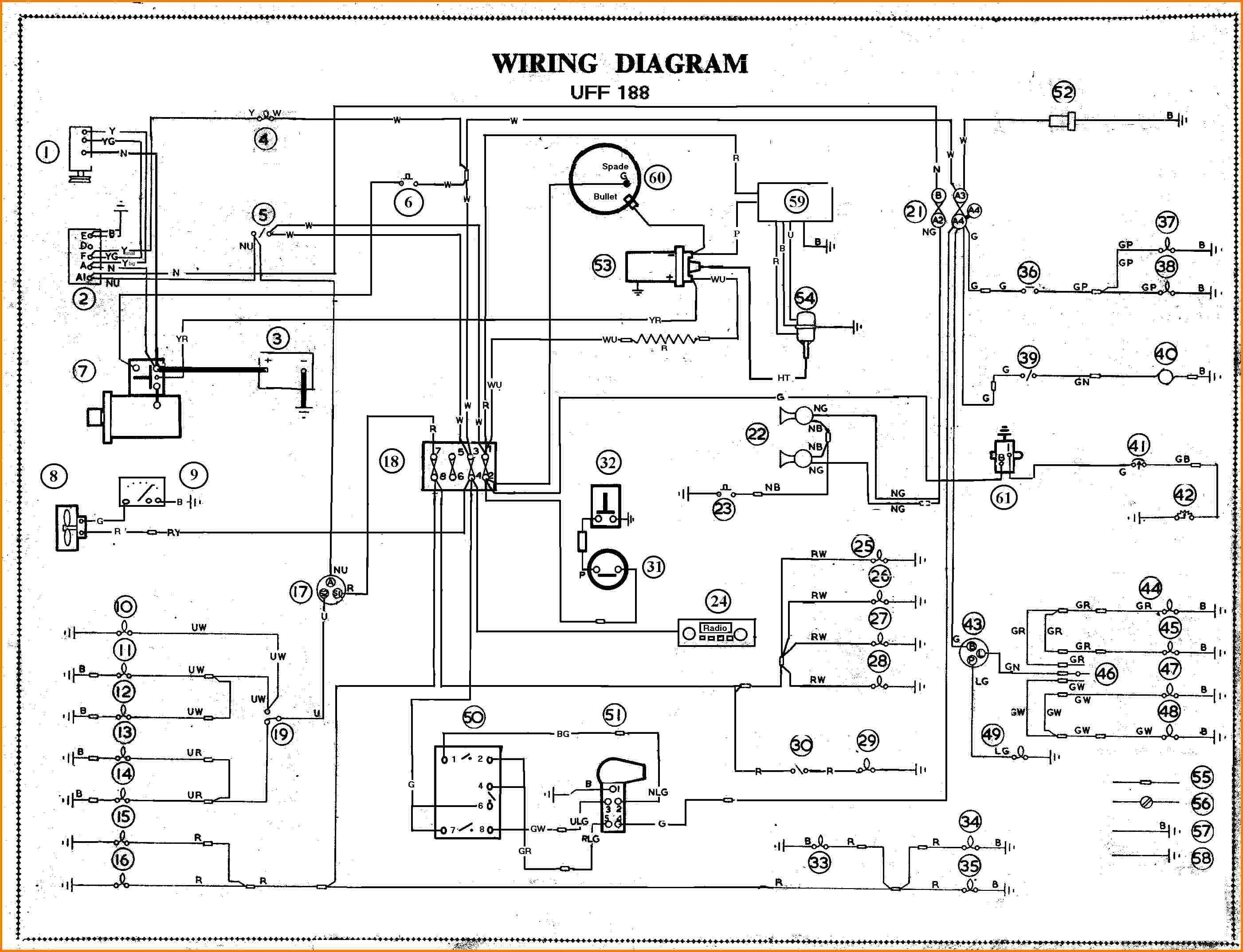 Car Schematic Wiring