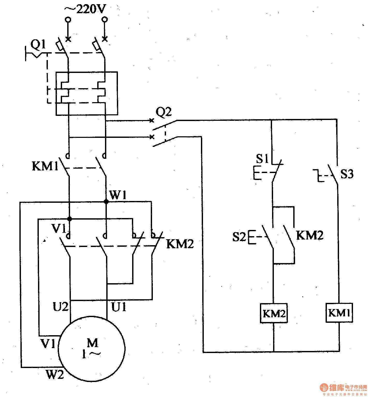 Single Phase Motor Starter Wiring Diagram
