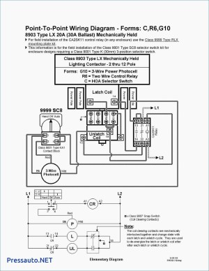 Square D Lighting Contactor Class 8903 Wiring Diagram